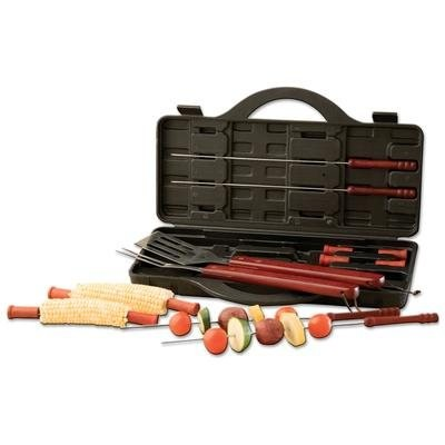 15PC. STAINLESS STEEL BARBEQUE SET