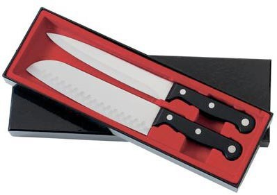 2PC. SANTOKU KNIFE SET