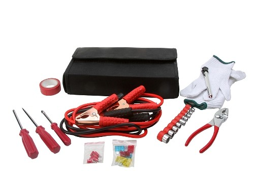 32PC. EMERGENCY ROADSIDE CAR KIT