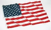 3' X 5' AMERICAN FLAG WITH GROMETS