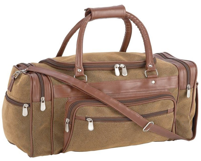"""TRAVEL GEAR FAUX LEATHER 23"""" TOTE BAG"""