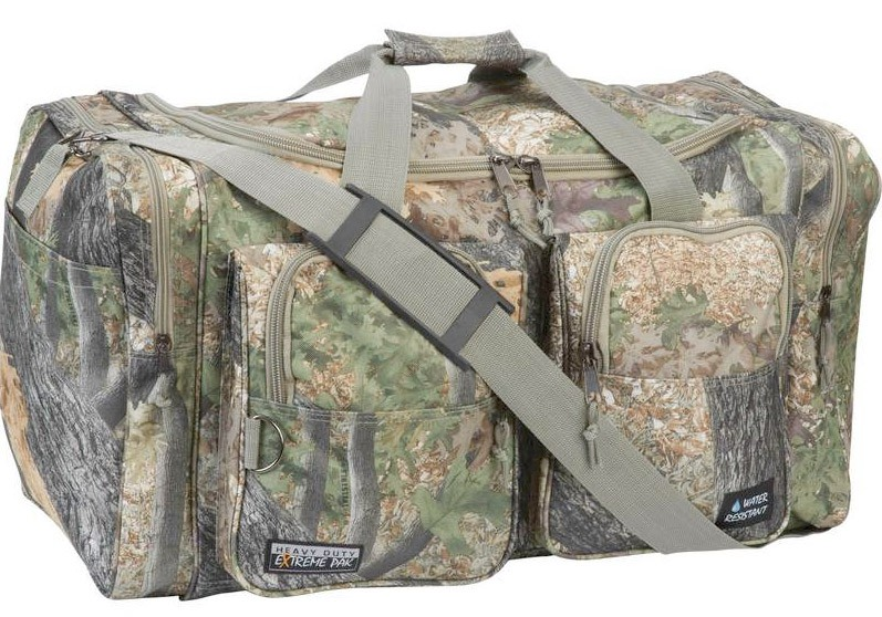 """EXTREME PAK INVISIBLE CAMO WATER-RESISTANT 26"""" TOTE BAG"""