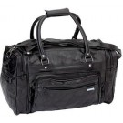 "GENUINE LEATHER 18"" TOTE/TRAVEL BAG"