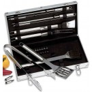22PC. STAINLESS STEEL BARBEQUE SET