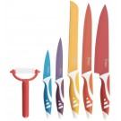 6PC. NON STICK, COATED CUTLERY SET