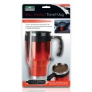 16OZ.. STAINLESS STEEL HEATED TRAVEL MUG