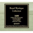 ROYAL MYSTIQUE COLLECTION 1600 SERIES 4PC. SHEET SET