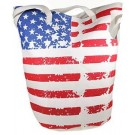 STARS & STRIPES FAMILY-SIZE JUMBO TOTE BAG